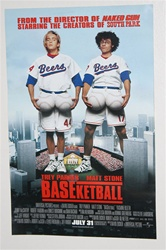 Baseketball Movie Poster Double Sided