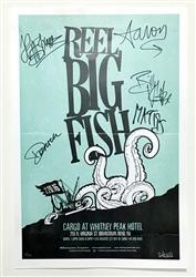 Autographed Rough Sea 2016 Tour Poster